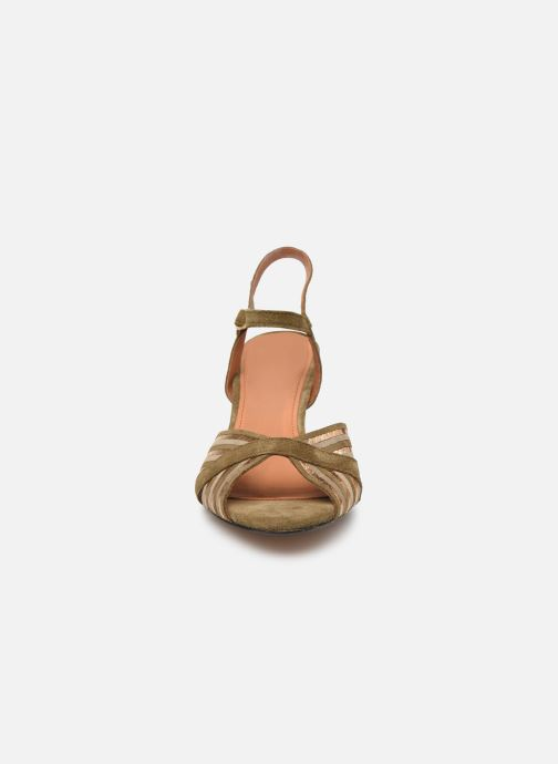 Sandales et nu-pieds Anonymous Copenhagen Kristine Vert vue portées chaussures