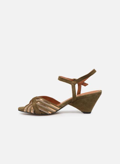 Sandales et nu-pieds Anonymous Copenhagen Kristine Vert vue face