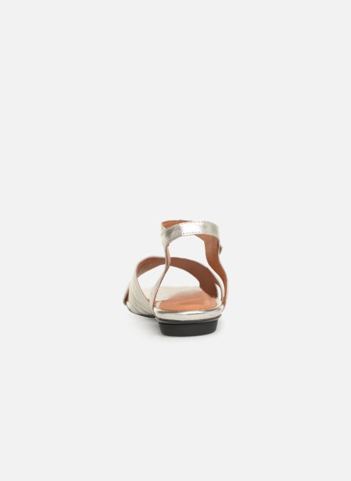 Sandals Anonymous Copenhagen Niabi Silver view from the right