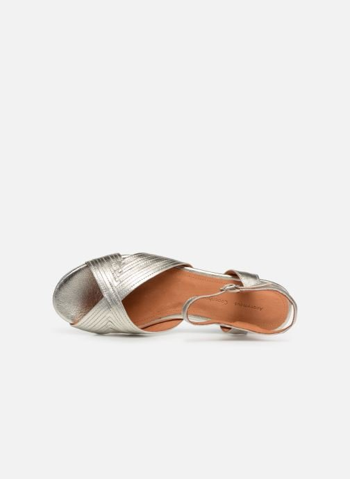 Sandals Anonymous Copenhagen Niabi Silver view from the left