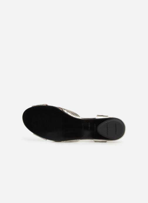 Sandales et nu-pieds Anonymous Copenhagen Niabi Argent vue haut