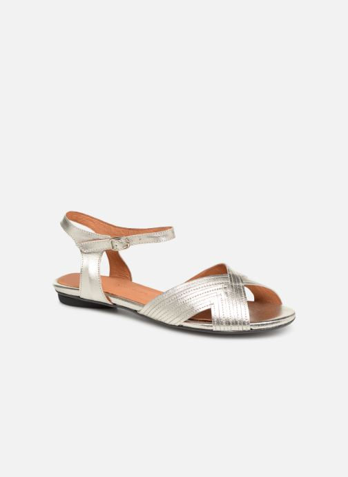 Sandals Anonymous Copenhagen Niabi Silver detailed view/ Pair view
