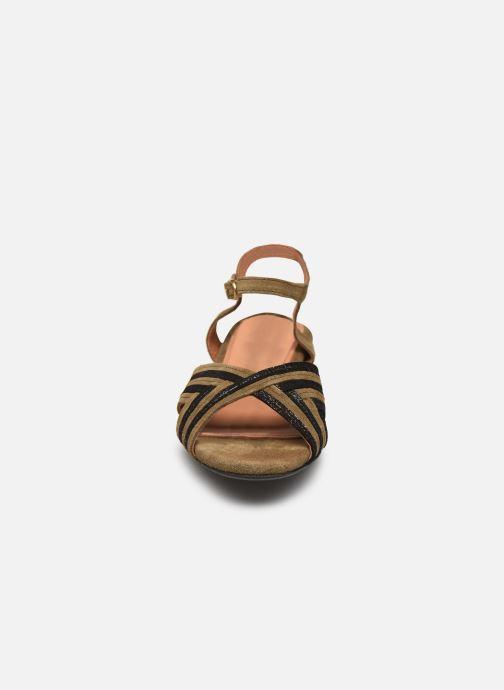 Sandales et nu-pieds Anonymous Copenhagen Niabi Marron vue portées chaussures