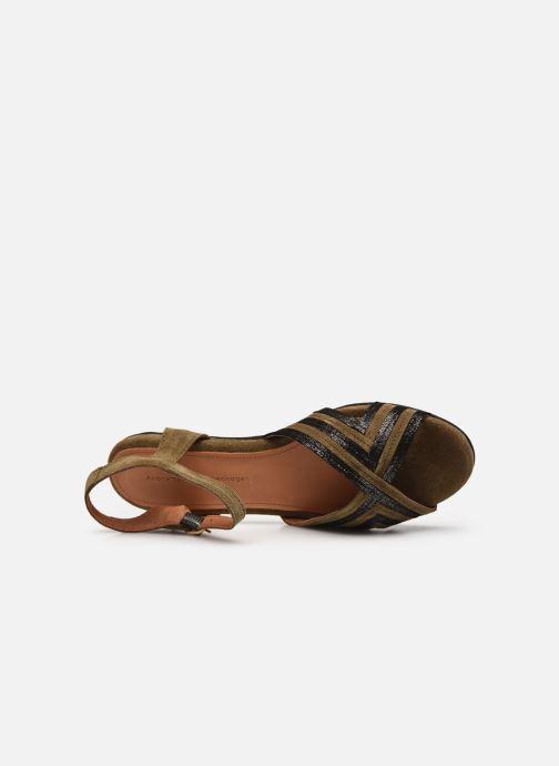 Sandales et nu-pieds Anonymous Copenhagen Niabi Marron vue gauche
