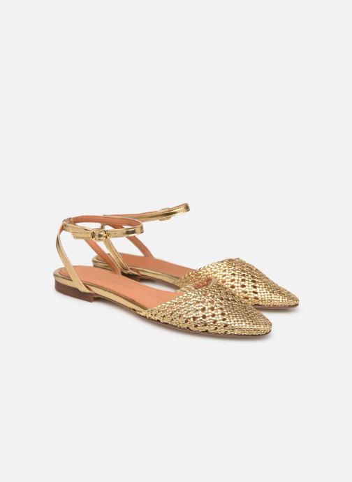 Sandales et nu-pieds Anonymous Copenhagen Senara Or et bronze vue 3/4