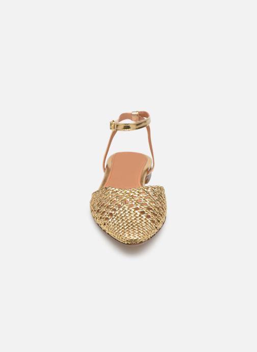 Sandales et nu-pieds Anonymous Copenhagen Senara Or et bronze vue portées chaussures
