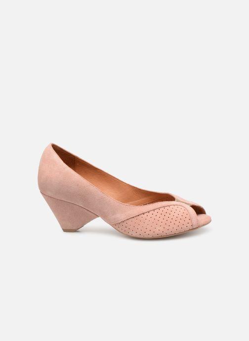 High heels Anonymous Copenhagen Tiffany metallic Pink back view