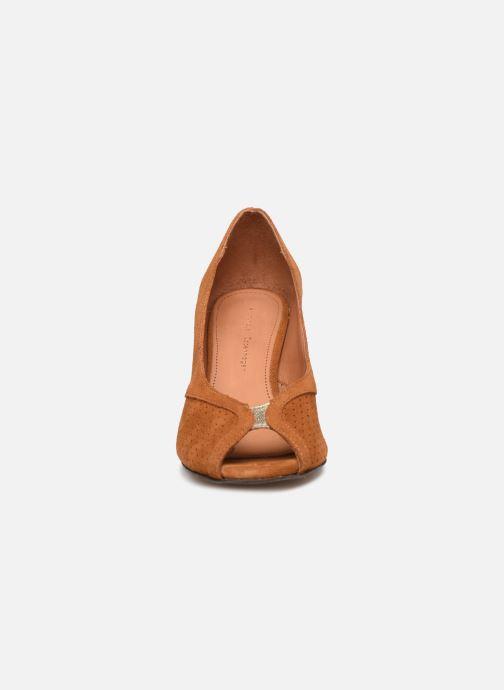 Escarpins Anonymous Copenhagen Tiffany metallic Marron vue portées chaussures
