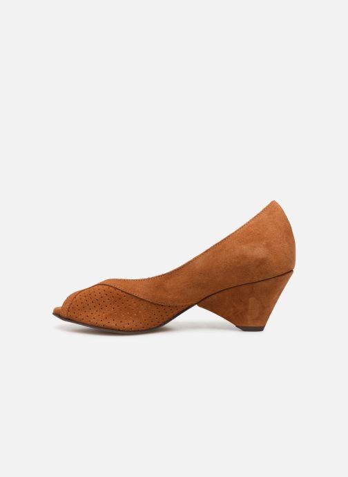 Zapatos de tacón Anonymous Copenhagen Tiffany metallic Marrón vista de frente
