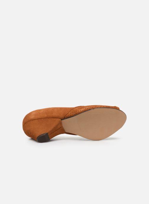 Zapatos de tacón Anonymous Copenhagen Tiffany metallic Marrón vista de arriba
