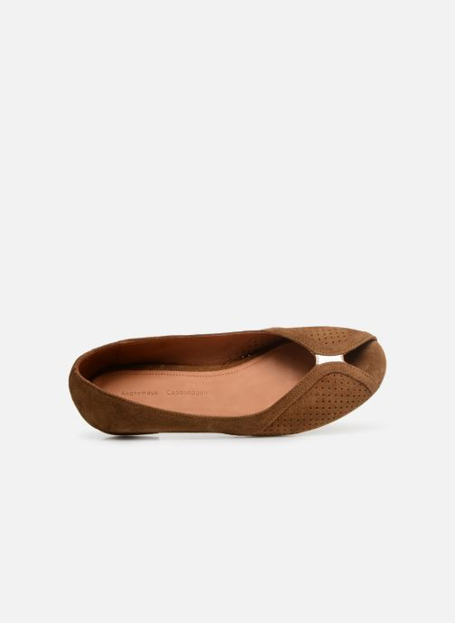 Anonymous Copenhagen Tiffy Metallic - Marron (tobacco / Suede Calf)