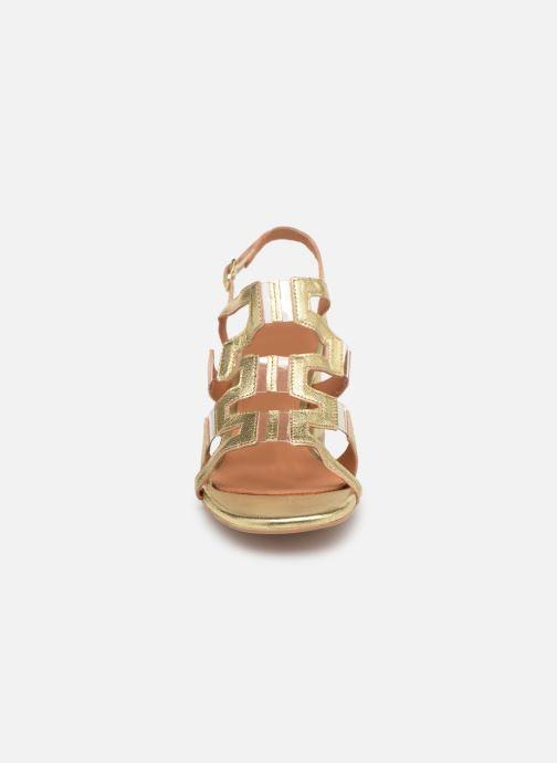 Sandales et nu-pieds Anonymous Copenhagen Vicci Or et bronze vue portées chaussures