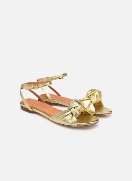 Sandali e scarpe aperte Anonymous Copenhagen Zally Oro e bronzo immagine 3/4
