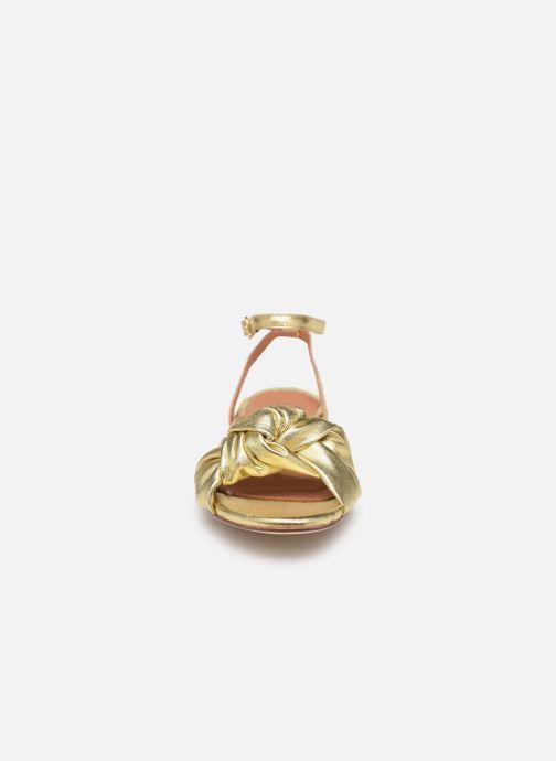 Sandales et nu-pieds Anonymous Copenhagen Zally Or et bronze vue portées chaussures