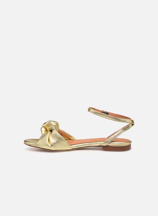 Sandali e scarpe aperte Anonymous Copenhagen Zally Oro e bronzo immagine frontale