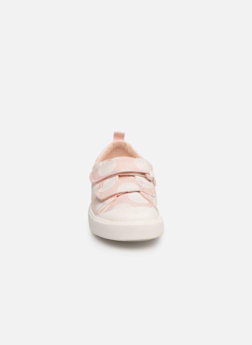 Baskets Clarks City FlareLo T Rose vue portées chaussures