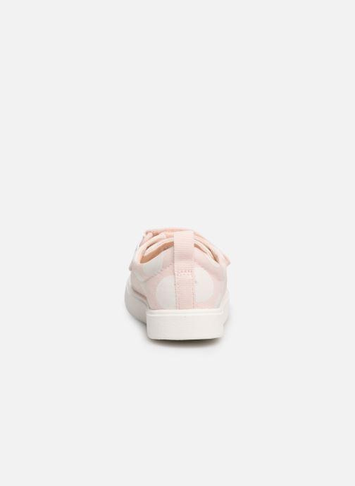 Sneakers Clarks City FlareLo T Roze rechts