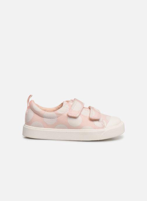 Sneakers Clarks City FlareLo T Roze achterkant
