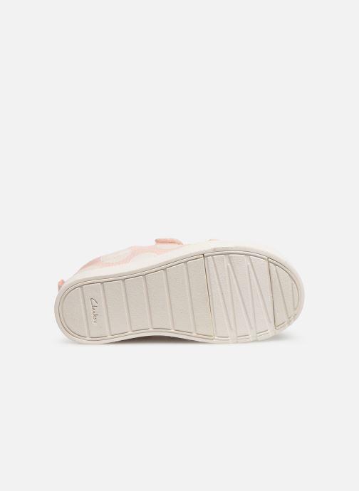 Sneakers Clarks City FlareLo T Roze boven