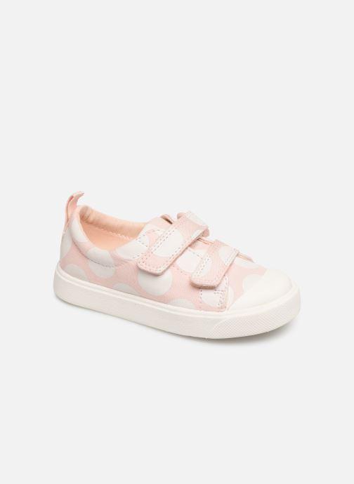 Sneakers Clarks City FlareLo T Roze detail