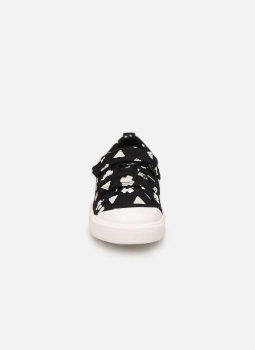 Baskets Clarks City FlareLo T Noir vue portées chaussures