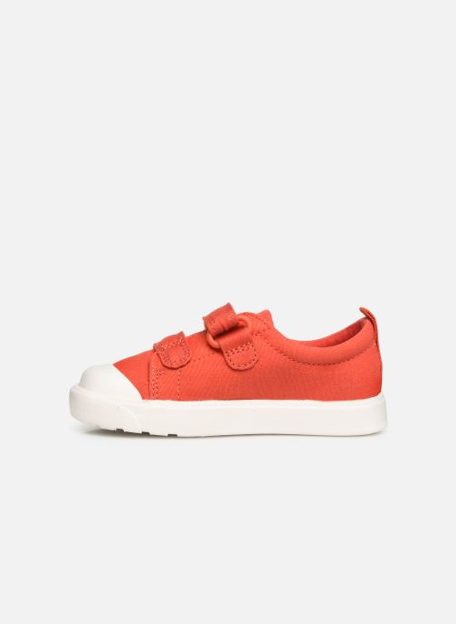 Trainers Clarks City FlareLo T Orange front view