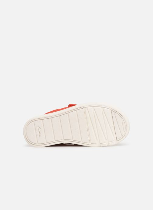Trainers Clarks City FlareLo T Orange view from above