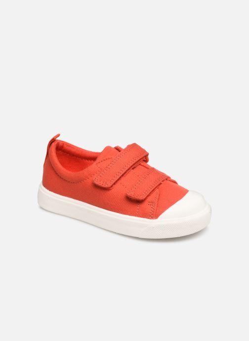 Trainers Clarks City FlareLo T Orange detailed view/ Pair view