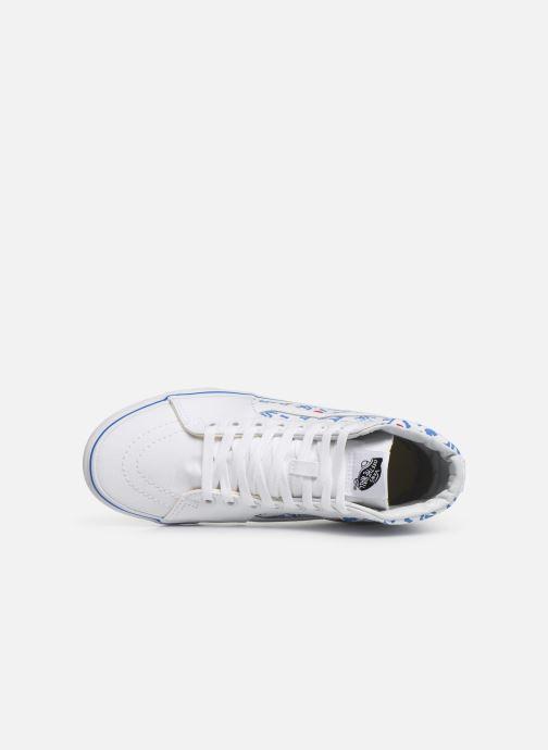 Baskets Vans SK8-Hi W Blanc vue gauche