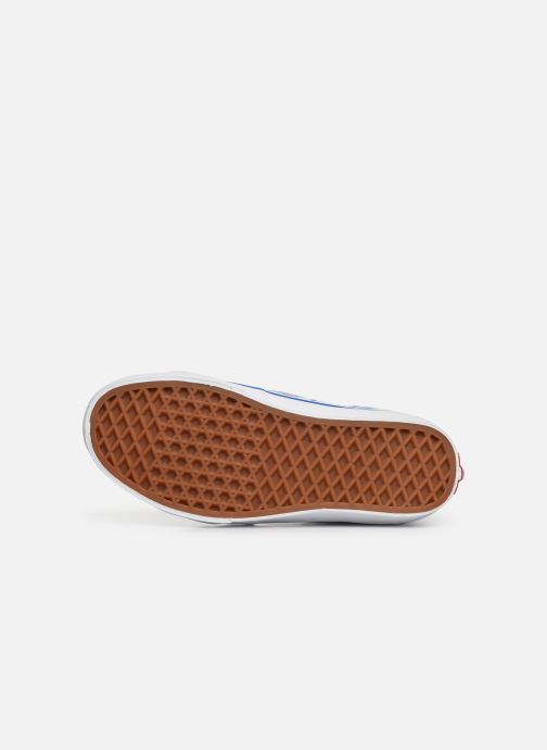 Baskets Vans SK8-Hi W Blanc vue haut