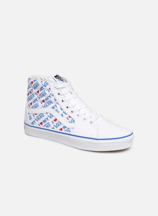 Baskets Vans SK8-Hi W Blanc vue détail/paire