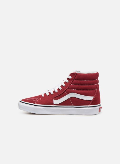 Sneaker Vans SK8-Hi W weinrot ansicht von vorne