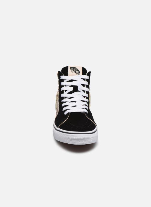 Baskets Vans SK8-Hi W Noir vue portées chaussures