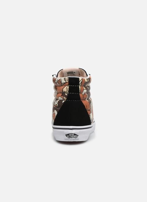 Baskets Vans SK8-Hi W Noir vue droite