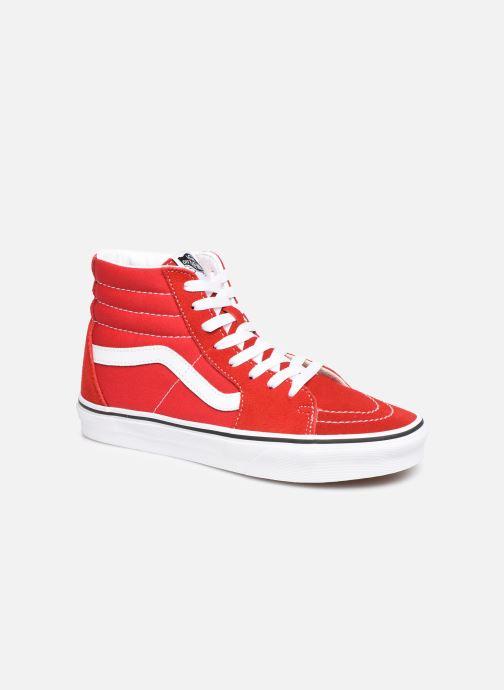 Baskets Vans SK8-Hi W Rouge vue détail/paire