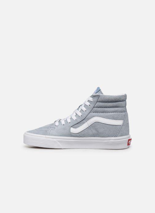 Sneaker Vans SK8-Hi W blau ansicht von vorne