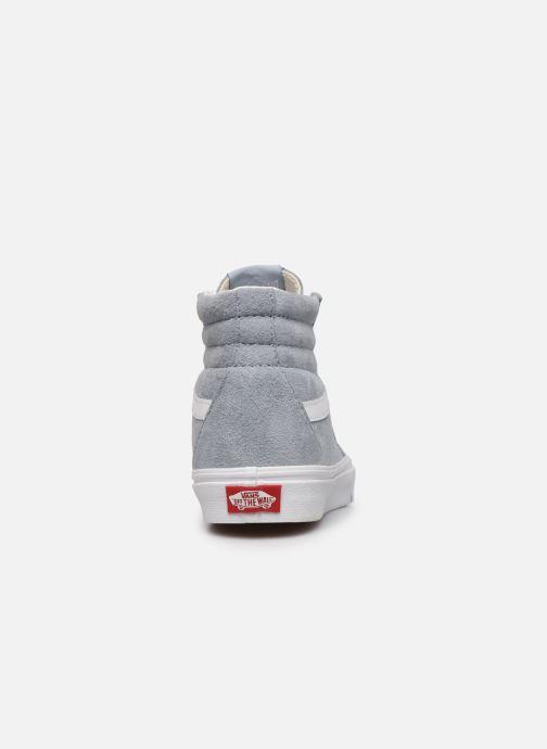 Sneaker Vans SK8-Hi W blau ansicht von rechts