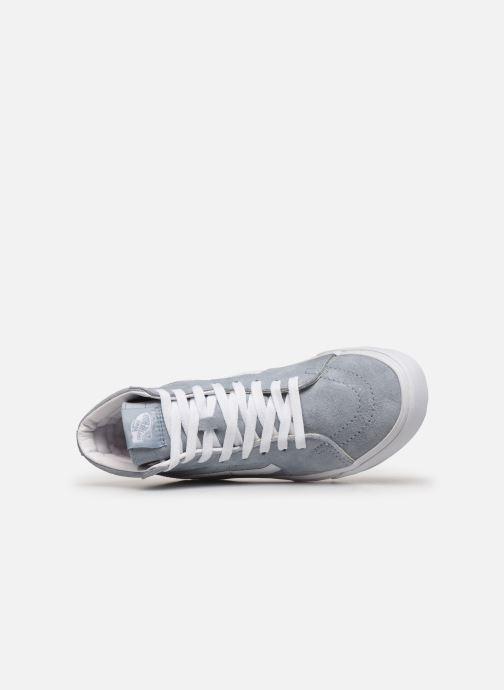 Sneaker Vans SK8-Hi W blau ansicht von links