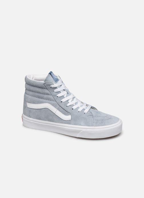 Sneaker Vans SK8-Hi W blau detaillierte ansicht/modell