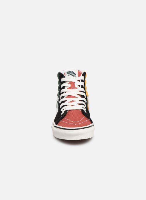 Sneaker Vans SK8-Hi W mehrfarbig schuhe getragen