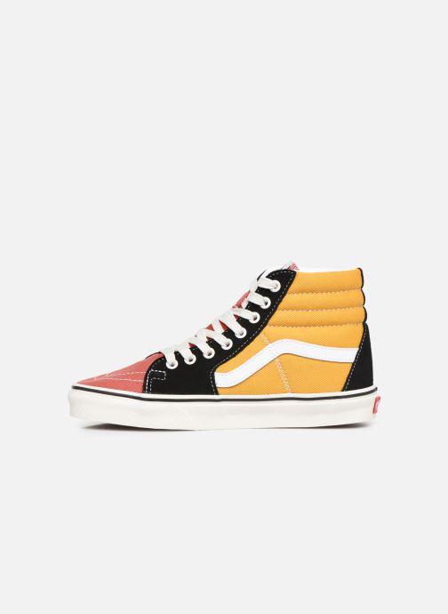 Sneaker Vans SK8-Hi W mehrfarbig ansicht von vorne