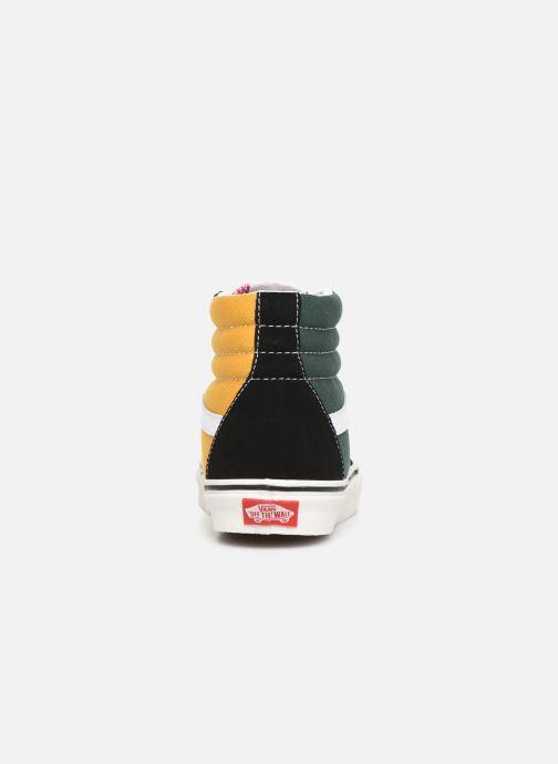 Baskets Vans SK8-Hi W Multicolore vue droite