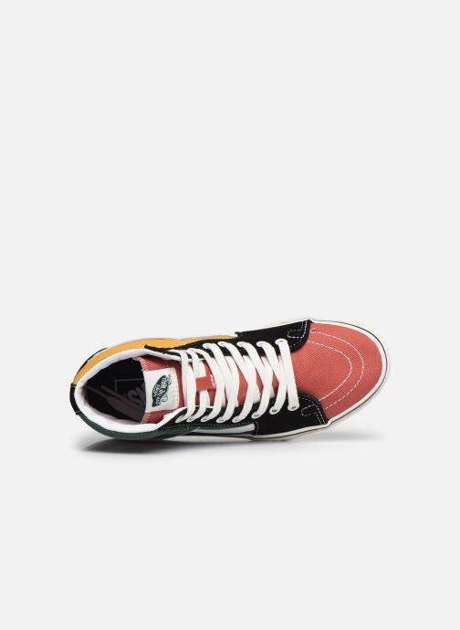 Sneaker Vans SK8-Hi W mehrfarbig ansicht von links