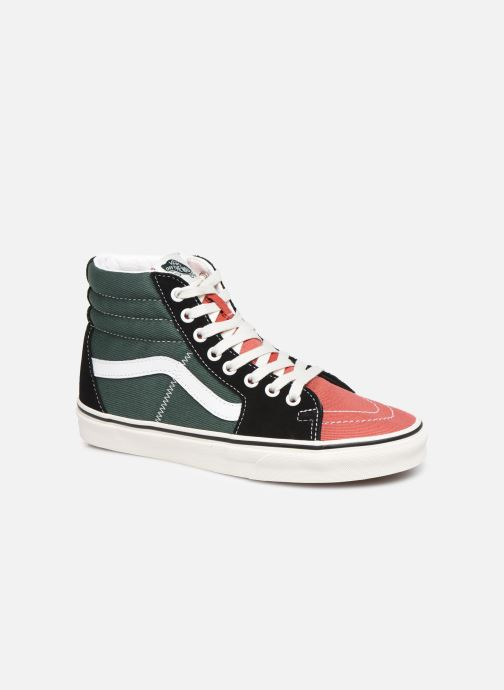 Baskets Vans SK8-Hi W Multicolore vue détail/paire