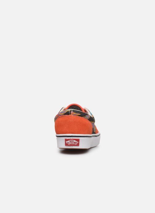 Baskets Vans ComfyCush Era Orange vue droite