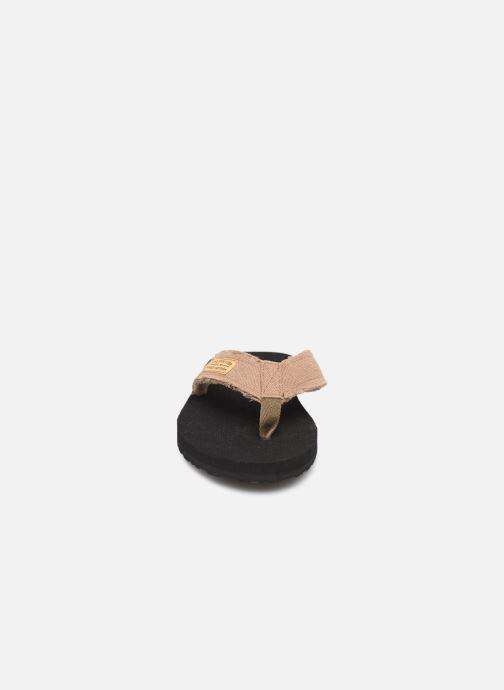 Tongs Cool Shoe Deep Marron vue portées chaussures