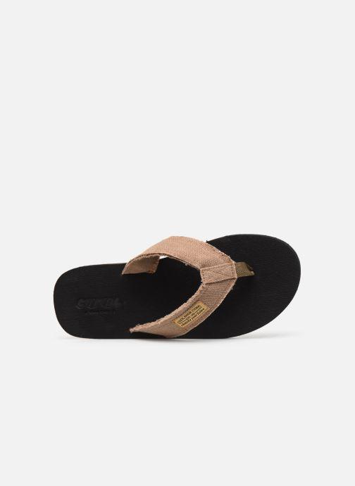 Tongs Cool Shoe Deep Marron vue gauche