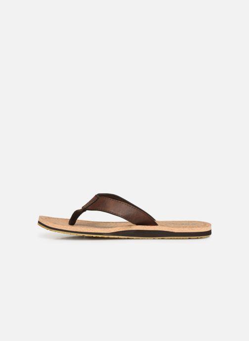 Flip flops Cool Shoe Sin Brown front view