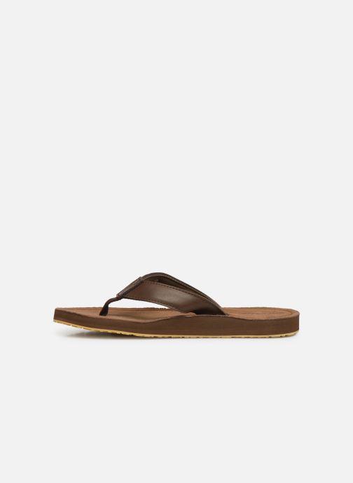 Flip flops Cool Shoe Pilat Brown front view