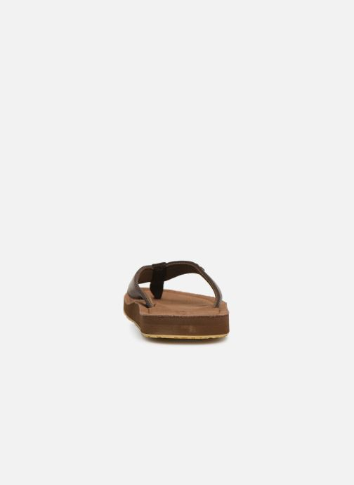 Flip flops Cool Shoe Pilat Brown view from the right